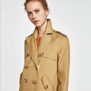 SOLD - Trench Coat Zảra